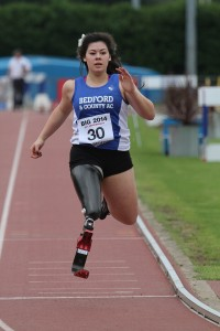 Julie Rogers Paralympic sprinter