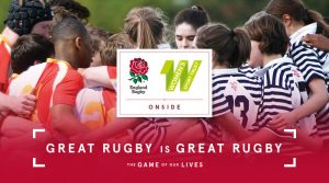 England Rugby partners with Women's Sport Trust on Onside campaign