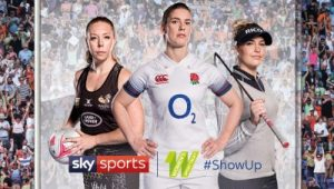 Why it's time to #ShowUp for women's sport